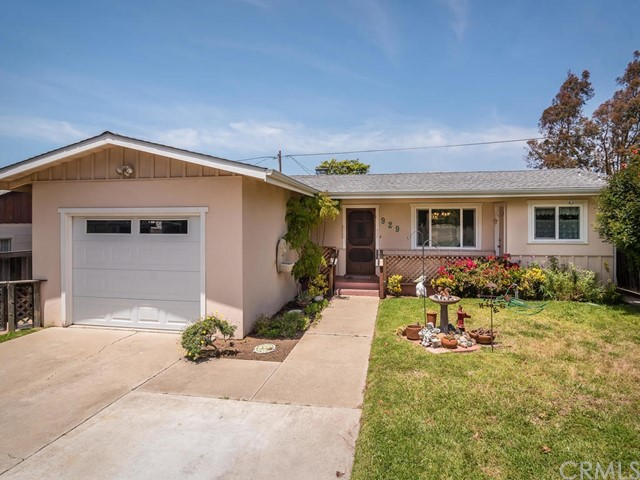 929  Pecho Street, Morro Bay in San Luis Obispo County, CA 93442 Home for Sale