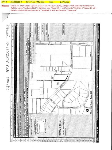 0 Markham Street Riverside, CA 92508 - MLS #: PW14063649