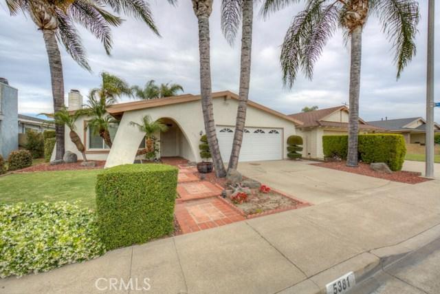 Single Family Home for Rent at 5381 Festival Circle La Palma, California 90623 United States