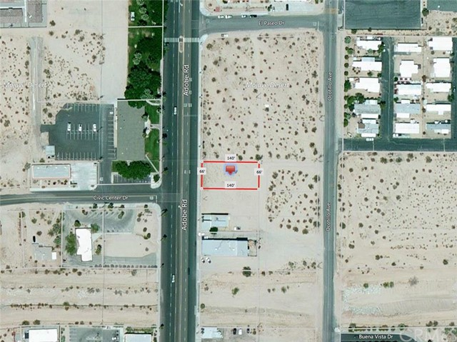 Single Family for Sale at 0 Adobe Road 29 Palms, California 92277 United States