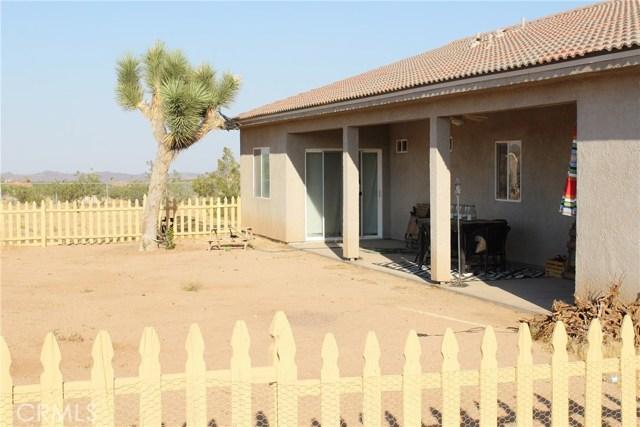 60586 Duvall Drive Joshua Tree, CA 92252 - MLS #: JT17139181