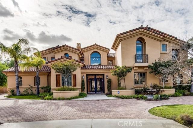 Casa Unifamiliar por un Venta en 375 E Shivom Court Anaheim Hills, California 92808 Estados Unidos