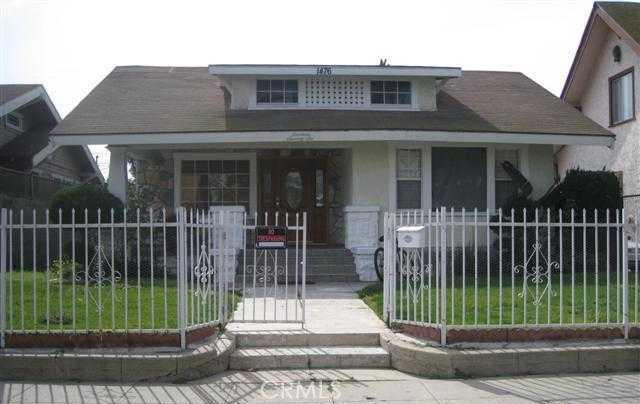 1476 West  46th Street, LOS ANGELES, 90062, CA
