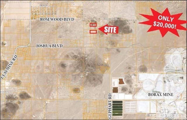 Land for Sale at Rosewood Boulevard Aerial Acres, California 93523 United States