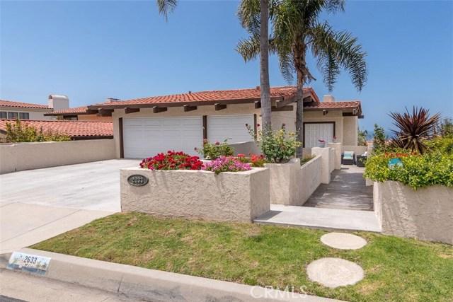 2633 Via Valdes  Palos Verdes Estates CA 90274