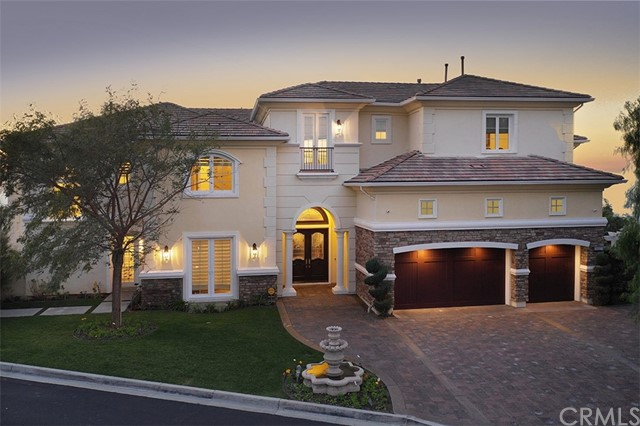 One of Gated Anaheim Hills Homes for Sale at 1117 S Pointe Premier