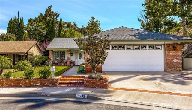1995 N Sunwood Lane, Anaheim Hills, California