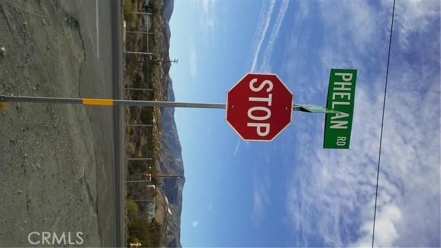 Single Family for Sale at 0 Phelan Phelan, California United States
