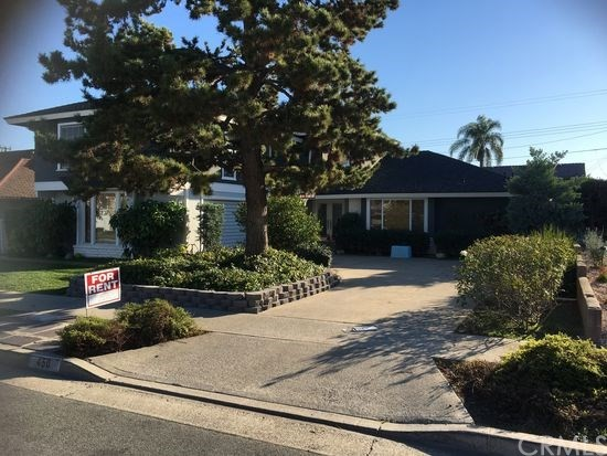 Single Family Home for Rent at 450 Hillcrest Avenue Placentia, California 92870 United States