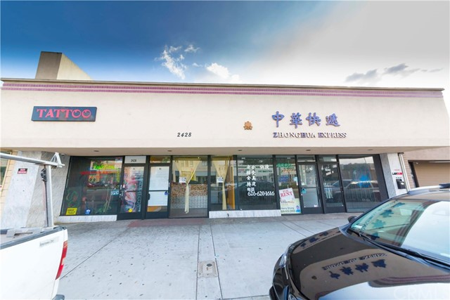 Retail for Sale at 2428 W Valley Boulevard Alhambra, 91803 United States