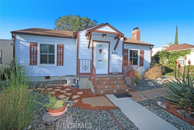 809 N Fairview Street, Burbank, CA 91505