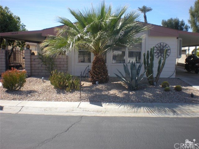 74649 Zircon Circle Palm Desert, CA 92260 - MLS #: 218007786DA