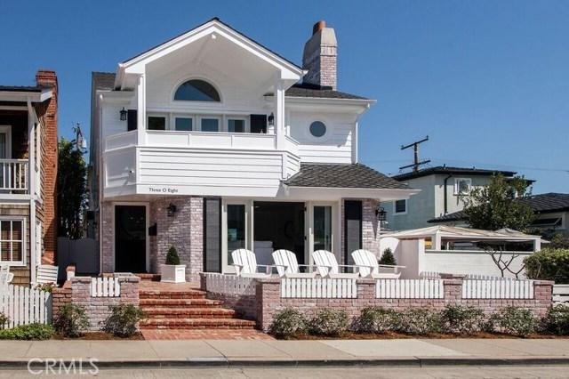 308 Sapphire Avenue  Newport Beach CA 92662