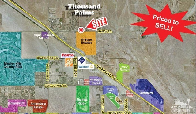 Land for Sale at Ramon Rd/San Miguelito Ramon Rd/San Miguelito Thousand Palms, California 92276 United States