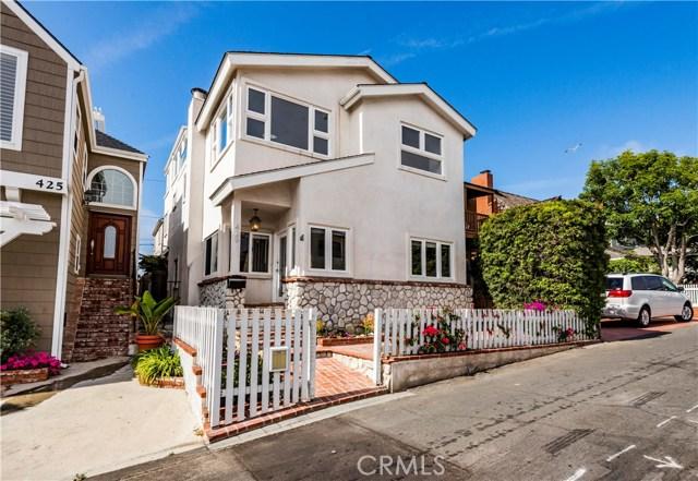 429 35th street Manhattan Beach CA 90266