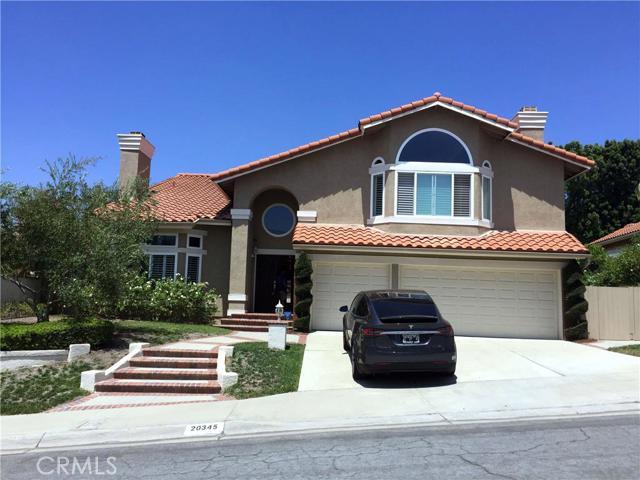 Single Family Home for Rent at 20345 Via Tarragona Yorba Linda, California 92887 United States