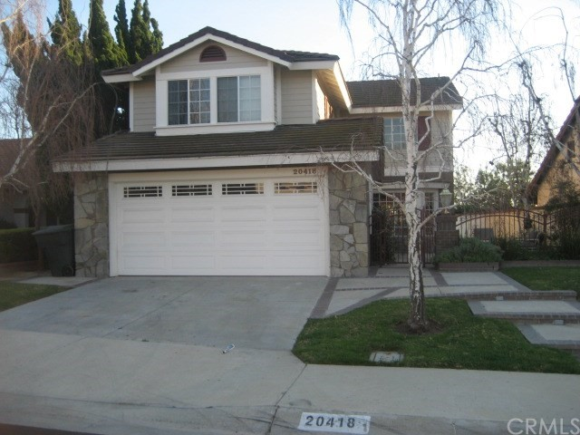 Photo of home for sale at 20418 Via Don Juan, Yorba Linda CA