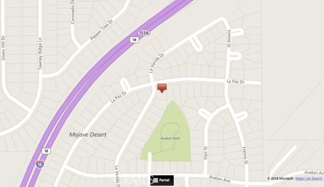 0 La Paz Victorville, CA 92395 - MLS #: PW18168110