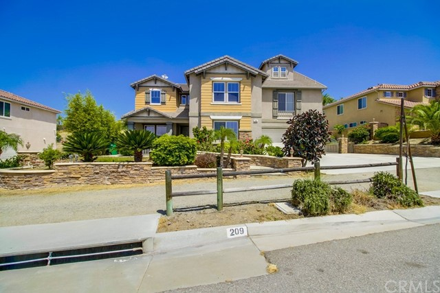 Single Family Home for Sale at 209 Oldenburg Lane Norco, California 92860 United States