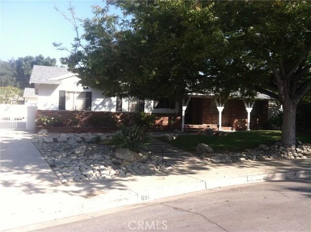 851 Knox Place Claremont, CA 91711 - MLS #: AR18257397
