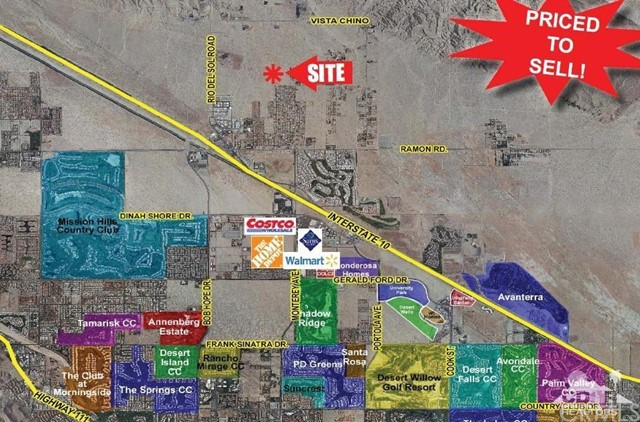 Photo of home for sale at 30.71 ac Rio Del Sol, Thousand Palms CA