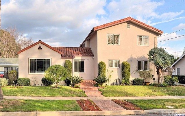Single Family Home for Sale at 650 Palo Verde Avenue Pasadena, California 91107 United States