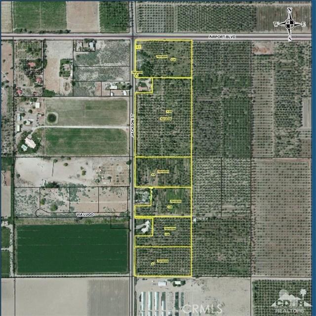 5 SE Airport Blvd & Jackson Thermal, CA 92274 - MLS #: 218014282DA