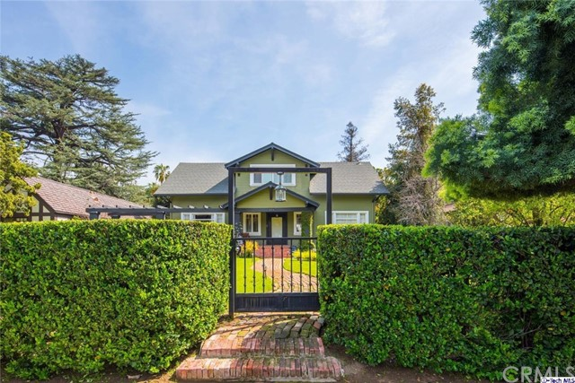 Single Family Home for Sale at 314 Hill Avenue S Pasadena, California 91106 United States