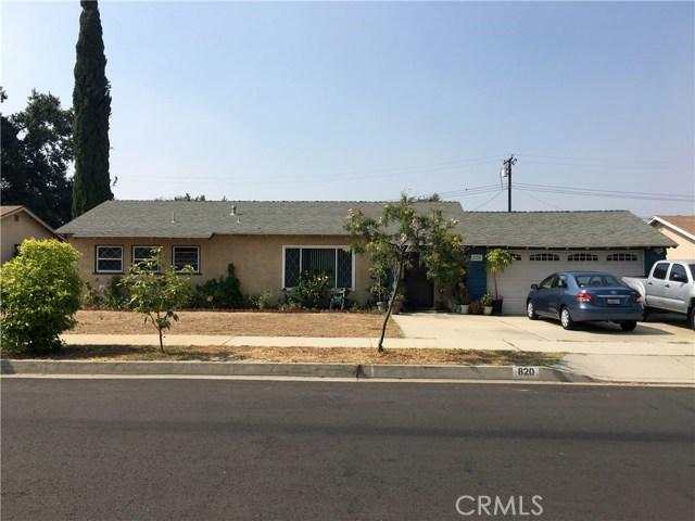 820 E Plymouth Street, Glendora, CA 91740