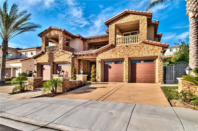 Single Family Home for Sale at 20105 Trentino Lane Yorba Linda, California 92886 United States