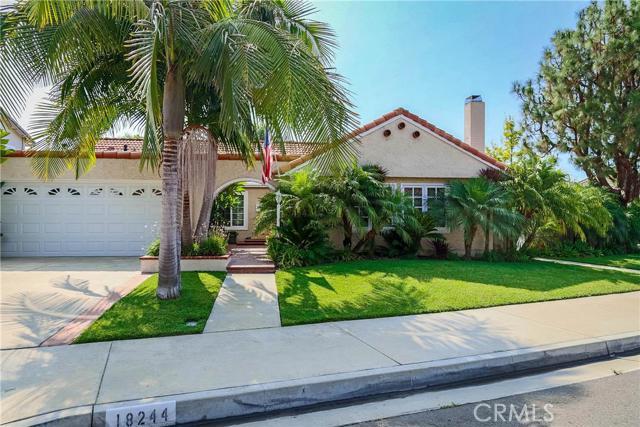 Single Family Home for Sale at 18244 Santa Lauretta Fountain Valley, California 92708 United States