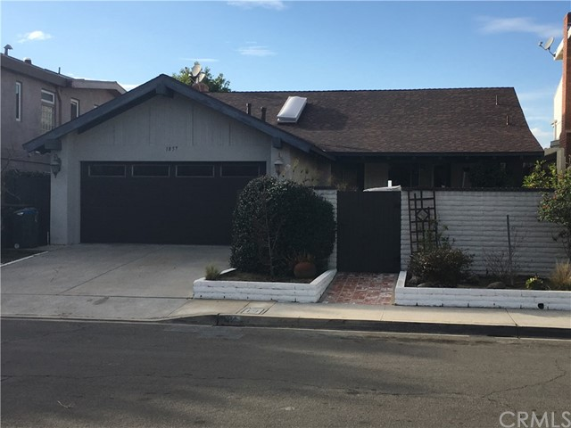 Single Family Home for Rent at 1857 Parkview Circle Costa Mesa, California 92627 United States