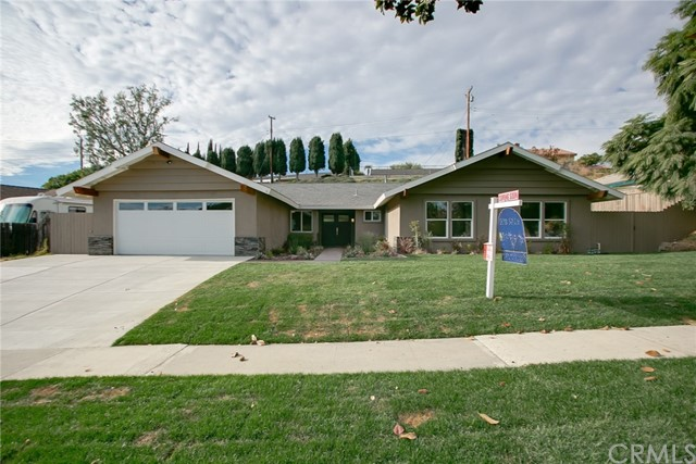 Single Family Home for Sale at 1925 Calle Candela Fullerton, California 92833 United States