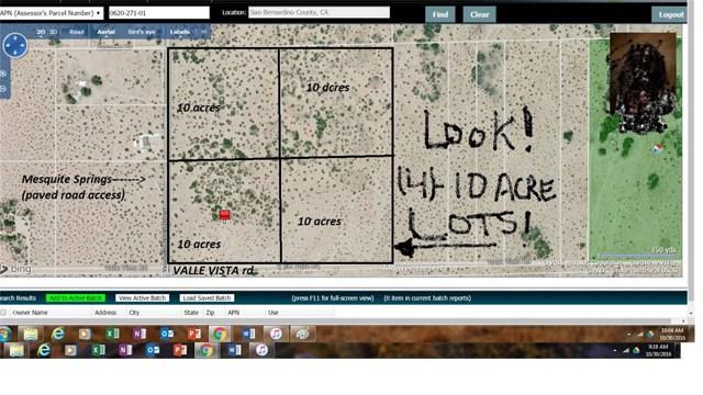1234 Mesquite Springs Rd, 29 Palms, CA, 92277