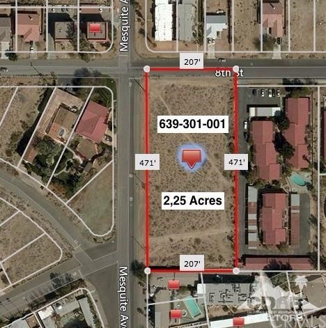 Additional photo for property listing at 2.25 Acres 8th Street  Desert Hot Springs, California 92240 Estados Unidos