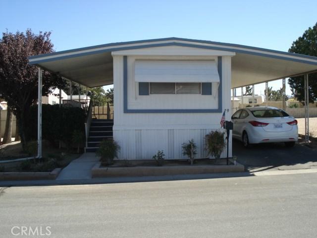 54999 Martinez #29, Yucca Valley, CA 92284-2463