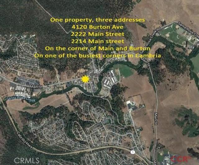 Single Family for Sale at 4120 Burton Drive Cambria, California 93428 United States