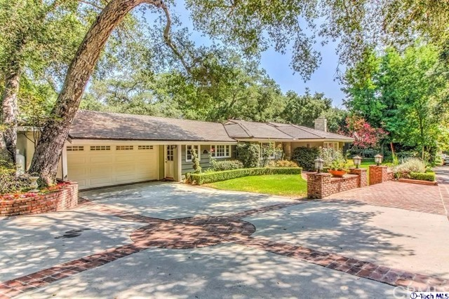 525 Berkshire Ave Avenue La Canada Flintridge, CA 91011 is listed for sale as MLS Listing 317000412