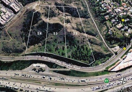 Land for Sale at 0 Santa Ana Canyon Road Anaheim Hills, California United States