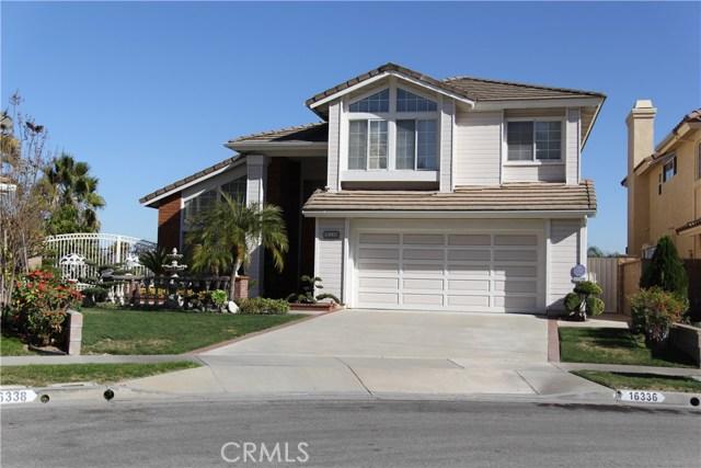 Single Family Home for Sale at 16336 Avenida San Miguel La Mirada, California 90638 United States