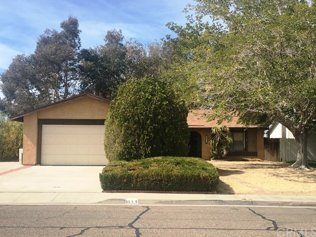 Single Family Home for Sale at 1115 Las Posas Court N Ridgecrest, California 93555 United States