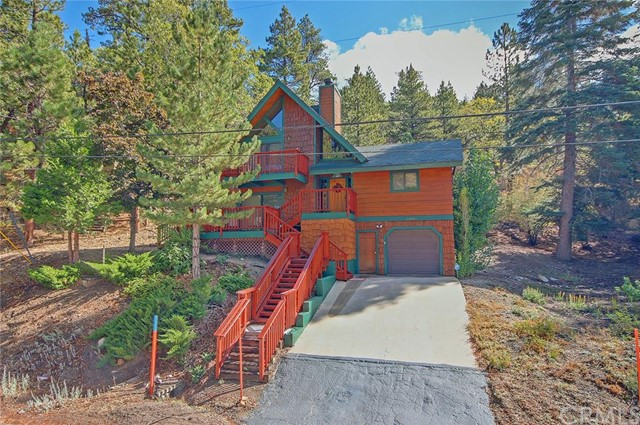 Single Family Home for Sale at 43682 Ridge Crest Drive Big Bear, California 92315 United States
