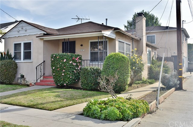Residential Income for Sale at 818 E Nutwood Street 818 E Nutwood Street Inglewood, California 90301 United States