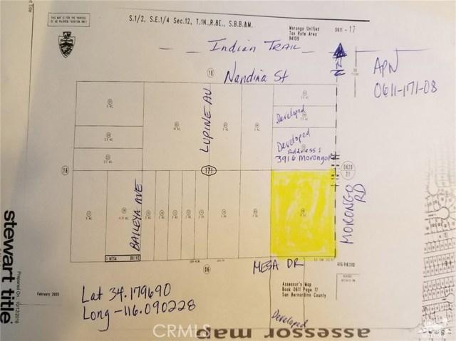 Morongo Road 29 Palms, CA 92277 - MLS #: 218018716DA