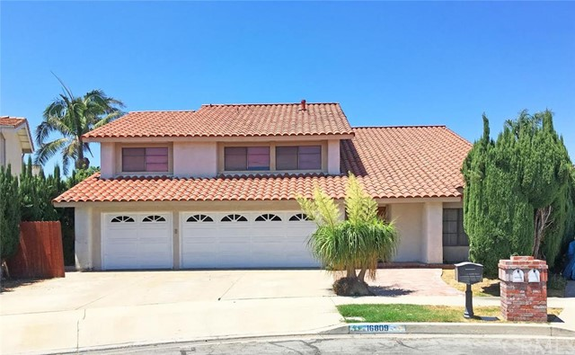 16809 Mount Fletcher Circle Fountain Valley, CA 92708 is listed for sale as MLS Listing OC16177783