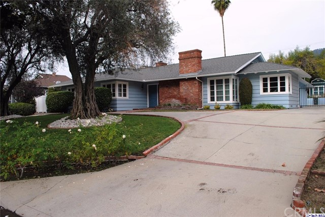 Single Family Home for Rent at 3785 Fairmeade Road Pasadena, California 91107 United States