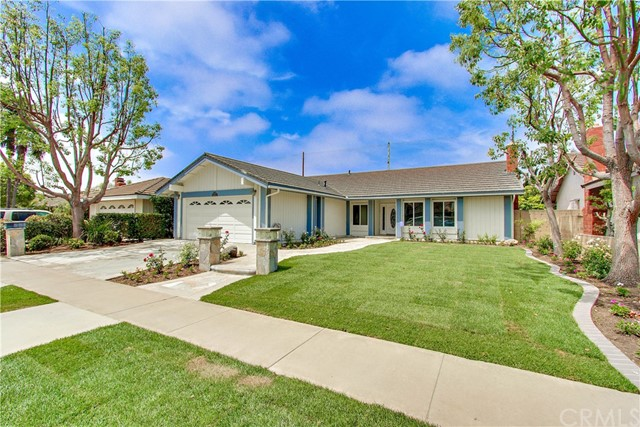 Single Family Home for Sale at 17639 Fremont Street Fountain Valley, California 92708 United States