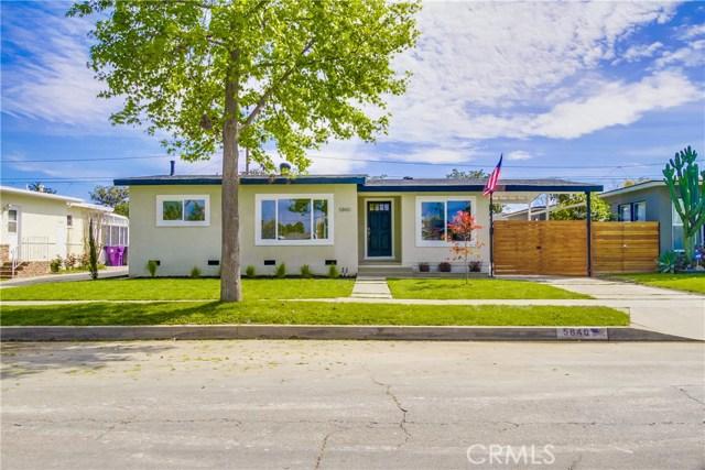 Single Family Home for Sale at 5840 Mezzanine Way E Long Beach, California 90808 United States