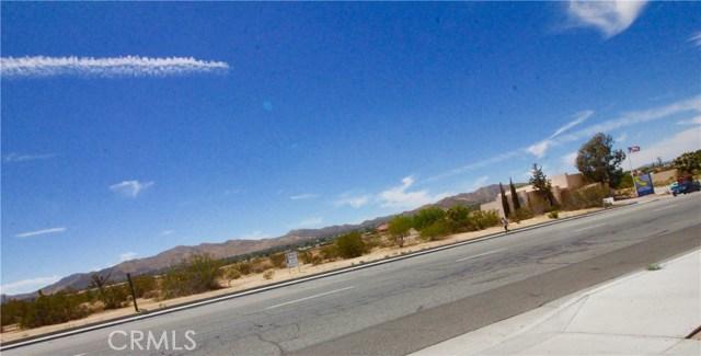 0 Twentynine Palms Yucca Valley, CA 92284 - MLS #: JT17205361