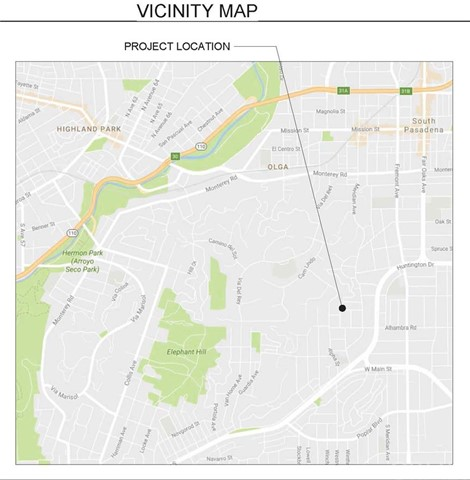 800 Valley View Road South Pasadena, CA 0 - MLS #: OC18210962